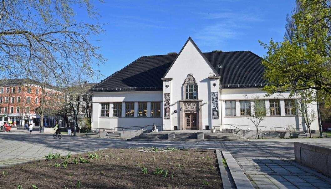 De fleste bibliotekene åpner med normale åpningstider. Her Deichman på Schous plass på Grunerløkka.