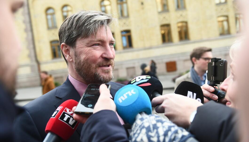 Christian Tybring-Gjedde er valgt inn i Frps sentralstyre for en periode på ett år.
