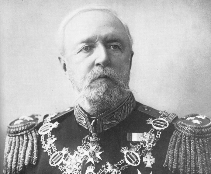 Kong Oscar II abdiserte som Norges konge ved unionsoppløsningen med Sverige i 1905