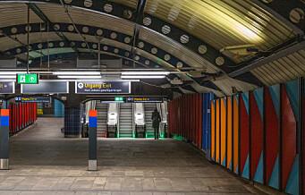 T-banen stenger den kommende langhelgen