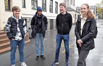 Med sjarm og kunnskap gikk 10. klassingene fra Bjølsen til finale i NRKs klassequiz