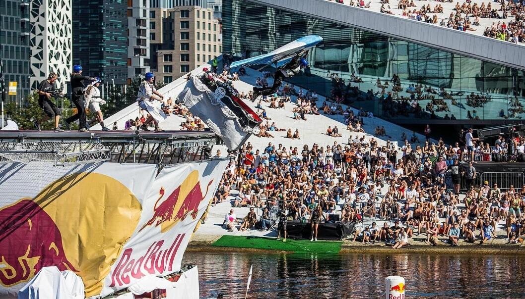 Her fra Red Bull Flugtag i Oslo i august 2015.
