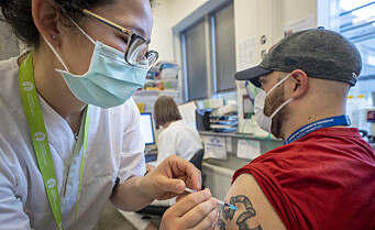 Halvparten av Oslos voksne befolkning har fått første dose med koronavaksine