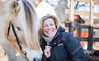 Hesten på Kampen økologiske barnegård får ny hestevogn, sele og ridebane