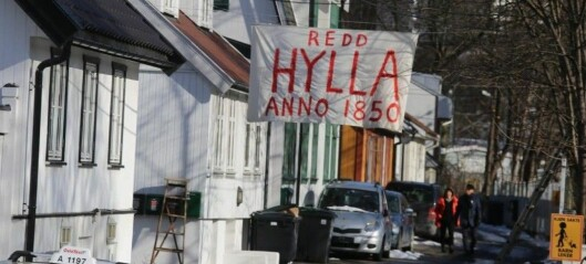 Aksjonister oppfordrer til klagestorm mot bystyrevedtak om riving av husene på Hylla