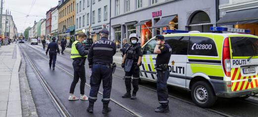 Skudd avfyrt ved Olaf Ryes plass