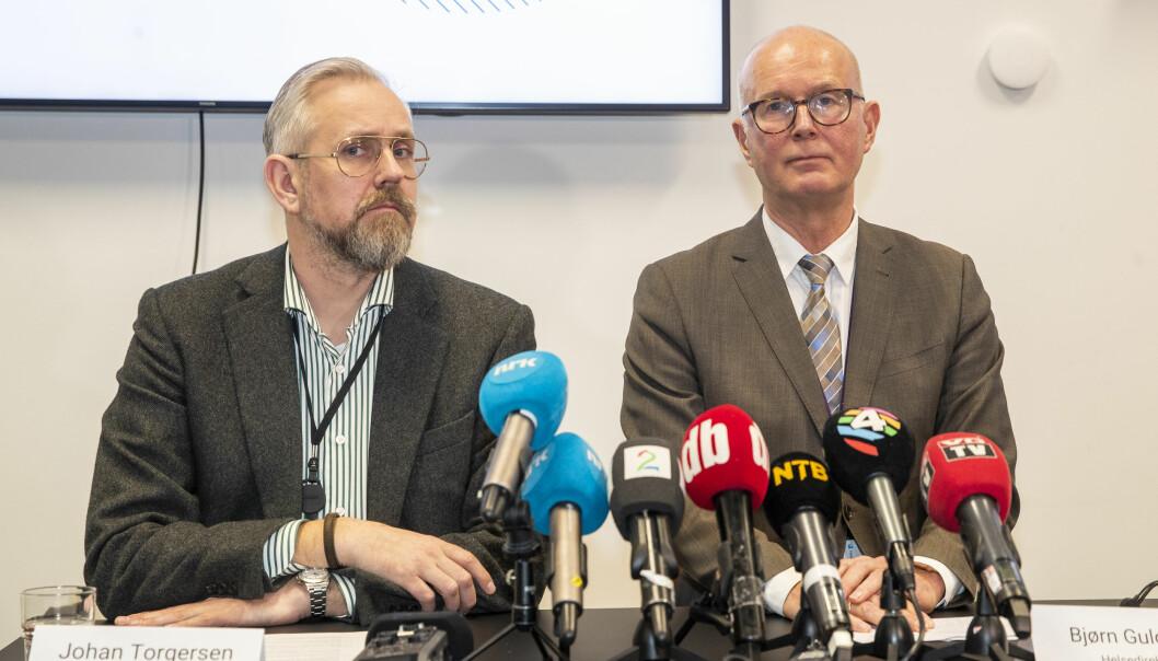 — Helsedirektoratet møter Oslo kommune ukentlig for å gå gjennom smittesituasjonen og å drøfte tiltak, sier direktør i Helsedirektoratet, Johan Torgersen, til Dagbladet.