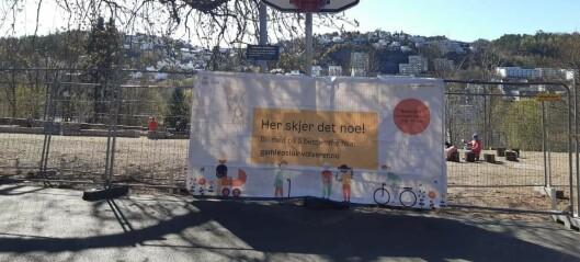 1500 kvadratmeter og gode framtidsutsikter for bybønder in spe på Vålerenga