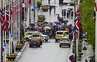 Politiet stanset 17. mai-demonstranter på vei mot Slottet