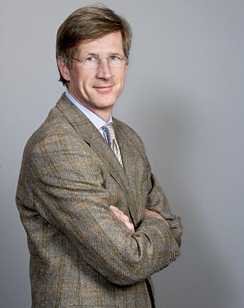 Styreleder i NRK, Birger Magnus, er svært fornøyd med å ha landet stedet hvor NRK skal ligge i fremtiden.