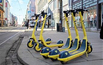 Rødgrønne presset gjennom gateleie for elsparkesykler i Oslo. Borgerlige frykter vedtaket er ulovlig