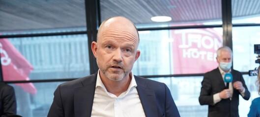 NHO-sjefen om Oslos gjenåpning: - Trist at enda en maihelg går tapt for serveringsstedene