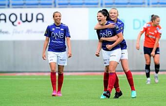 Festfotball da Vålerenga-damene knuste Avaldsnes i serieåpning. Men VIF-forsvaret må skjerpes