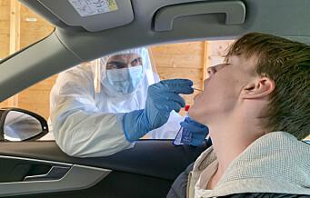 På Lambertseter videregående skole er sju personer bekreftet smittet med koronaviruset