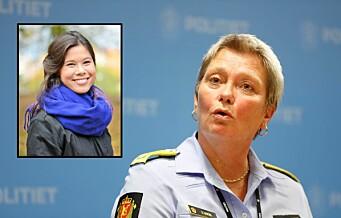 Politiet i Oslo vurderer etterforsking av trusler mot MDG-politiker Lan Marie Berg