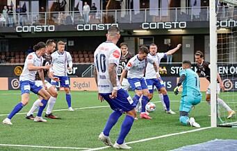 Vålerenga fikk slite borte mot Mjøndalen. Oslolaget unngikk tap med en scoring rett før slutt