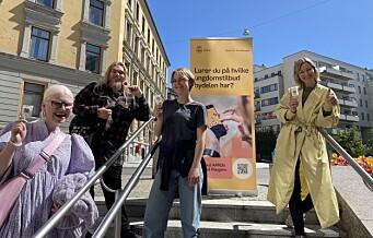 Bydel St. Hanshaugen gjør tilbudene for ungdom fra 12-23 år og barnefamilier mer tilgjengelige. Last ned appen «Ung på Haugen»