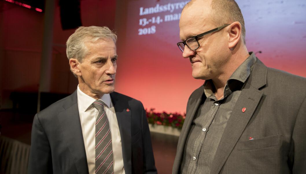 Oslo Arbeiderparti-leder Frode Jacobsen sier nei til nedleggelse av Ullevål. Jonas Gahr Støre sier ja.