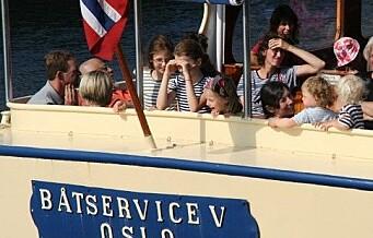 I dag kan du ta båten fra Munchmuseet via Salt og til Bygdøy