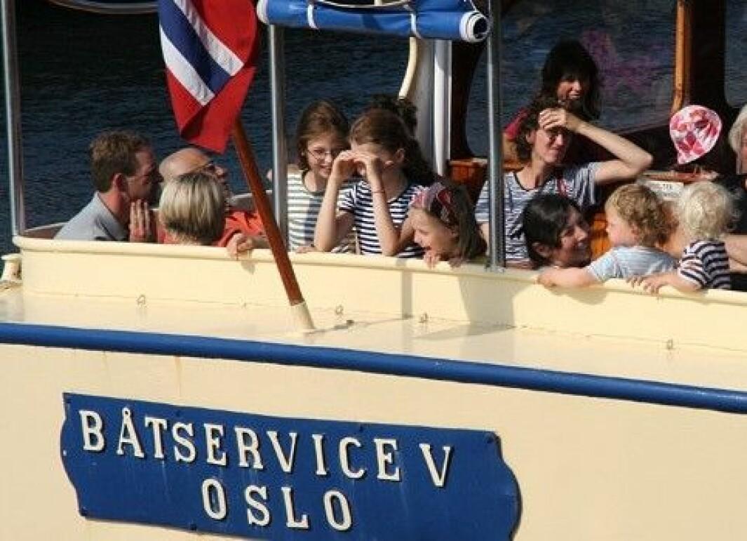 Denne helga får Oslofjorden en ny fergerute fra Bjørvika til Bygdøy.