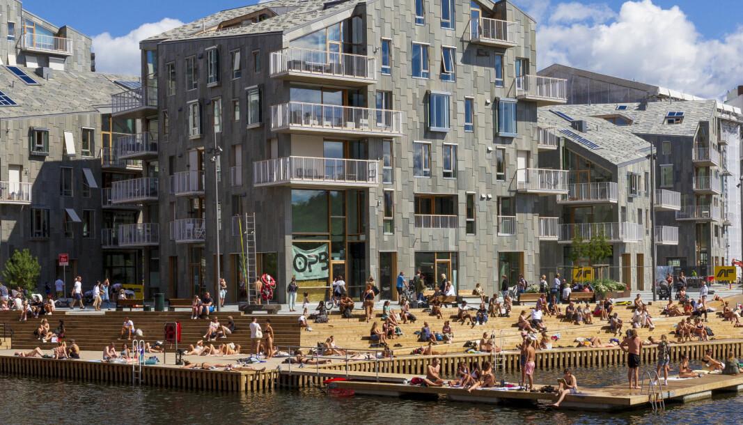 Til helga blir det strålende sol i Oslo.