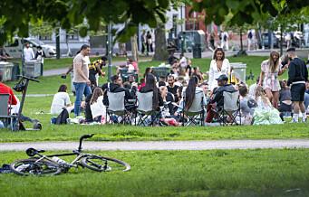 Oslo-politiet: En helt standard natt til lørdag tross varmt vær og gjenåpning