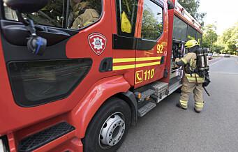 50 personer evakuert etter brann i Oslo