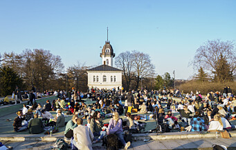 2.000 samlet seg på St. Hanshaugen i natt