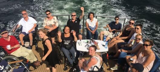 Spleiselag reddet rullestolbåt. — Nå kommer vi til Sukkerbiten og Bjørvika i juli og kan dra på tur, jubler eierne