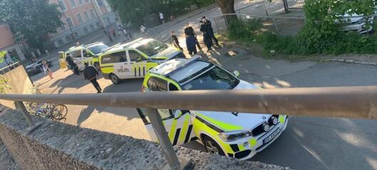 Voldsepisode på Grønland. Gjerningsmannen rømte med t-banen og ble tatt på Tøyen