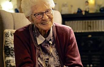 Grete (89) vokste opp på St.Hanshaugen under krigen: — Jeg tror ikke vi hadde noe vondt av det, annet enn at vi ikke fikk det vi ville