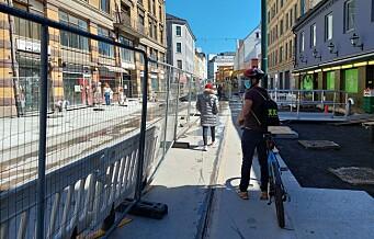 Halvparten sier Oslo-politikerne har gått for langt i å fjerne biler i sentrum