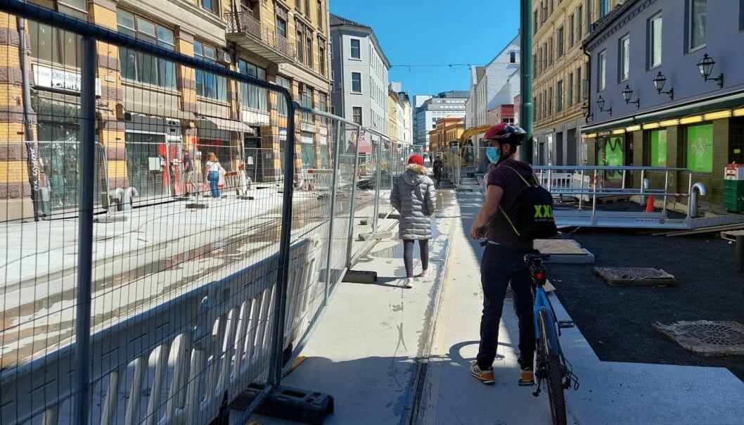 Tomme gater. Færre enn før vil ha et helt bilfritt sentrum i Oslo.