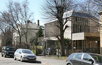 Hva sier du til 477 kvadratmeter brutalisme på beste Frogner til 40 millioner? Se bildene