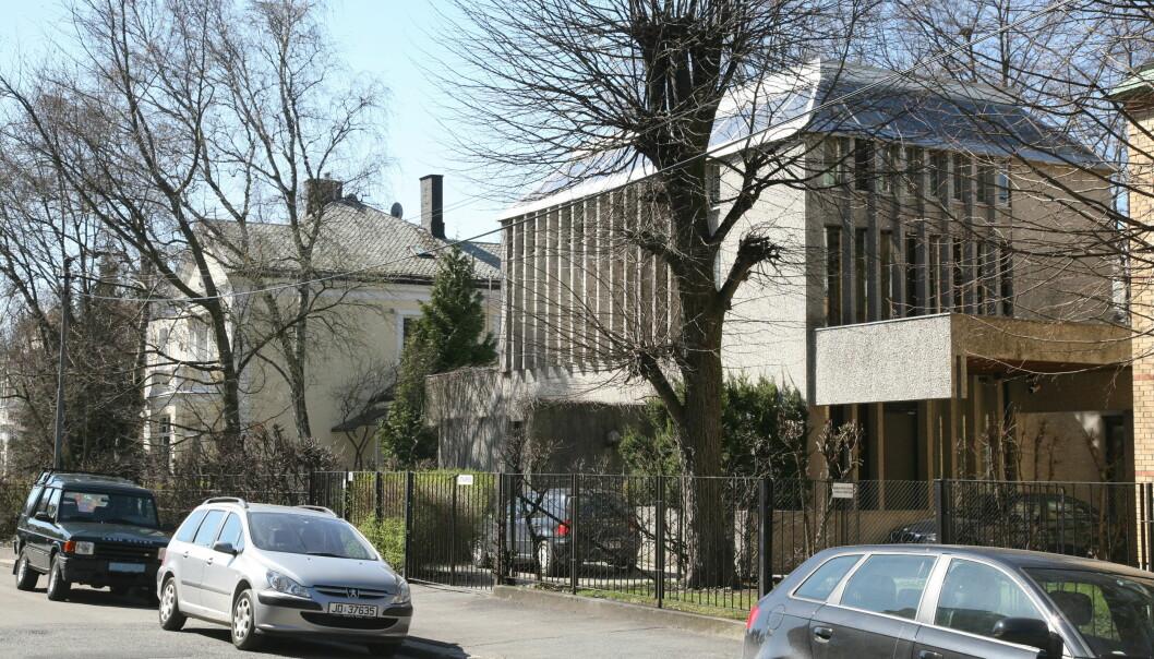 Dette bildet, fra 2008, viser villaen mens den var bebodd. De siste årene har den stått tom.