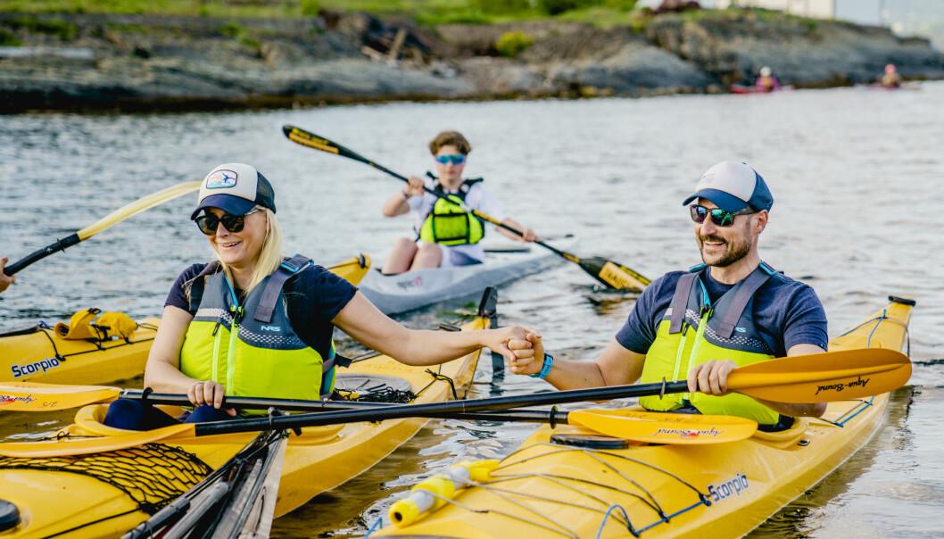 Kronprins Haakon mener det er lov å glede seg litt over at samfunnet trinnvis åpnes opp flere steder i Norge.Foto: POOL / Stian Lysberg Solum / NTB