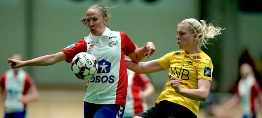 Lyn Kvinner måtte se seg slått av Lillestrøm, som kom tilbake og scoret tre mål etter pause