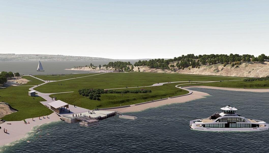 Ny kai, renset grunn, nye toaletter og en splitter ny strand er blant det du møter når du igjen kan ta båten til Langøyene fra 1. juli.
