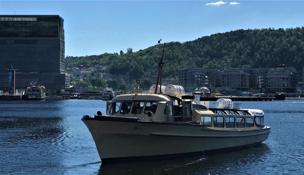 Bjørvika fikk sin første båtrute fredag 28. mai. Småferjene anløper Munchmuseet og kulturarenaen Salt, men får ikke lov til å legge til innerst ved kollektivknutepunktet Oslo S.