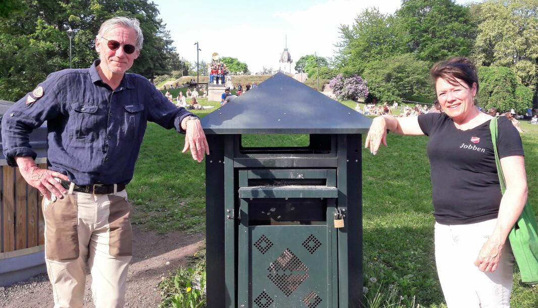 James Stove Lorentzen (H) vil engasjere Jobben for å rydde på St Hanshaugen. Vi er klare, sier daglig leder Jorunn Mathisen