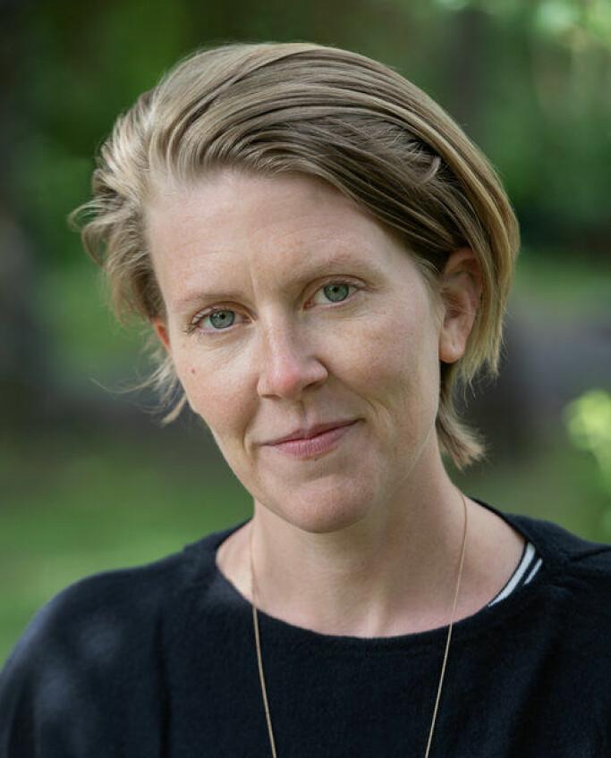 Silja Leifsdottir er kurator ved Norsk Billedhoggerforening.