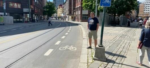 Sporveisarbeiderne vil frede Stenersgata-traseen. — Meningsløst å bruke millioner på å grave den opp