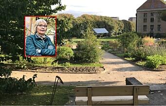 – Når kommer Linné-benken tilbake til Botanisk Hage?