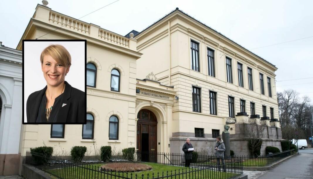 Villaen til Det Norske Nobelinstituttet i Henrik Ibsens gate er verdsatt til godt over 100 millioner kroner.