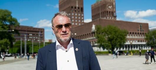Unner folk å samles i byens parker: - Men ryddinga, der har vi en del å gå på, sier Raymond Johansen