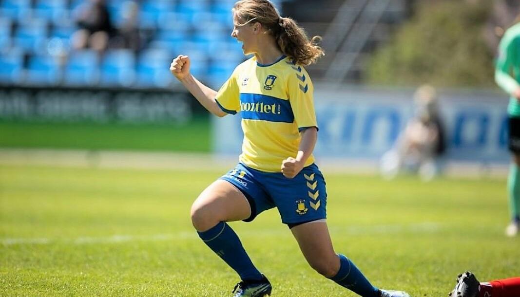 Danske Agnete Nilsen (22) skal kjempe om å bli Vålerenga-damenes neste toppscorer.