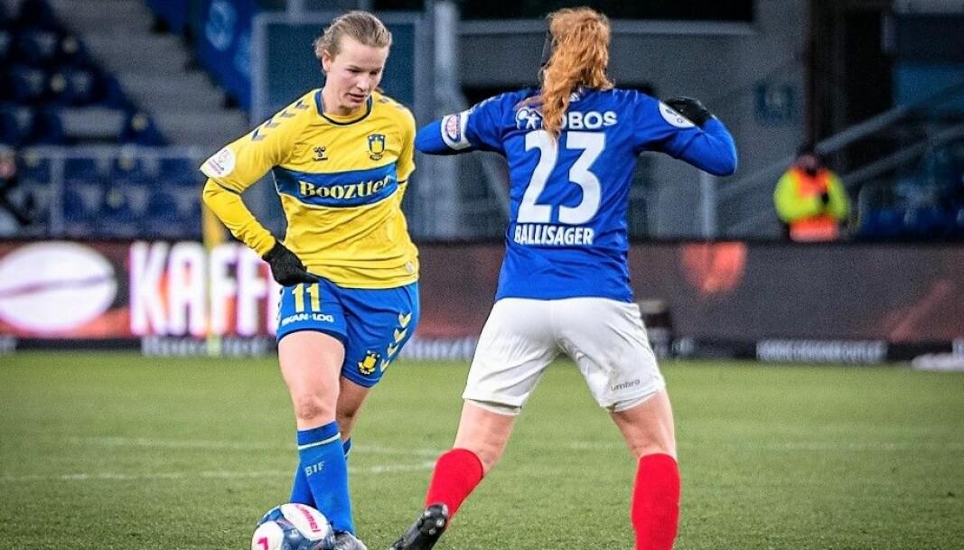 Tidligere i år møttes de i Champions League-spill. Nå blir Stine Ballisager Pedersen og Agnete Nilsen lagvenninner på Intility arena.