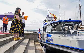 Oslo Havns nye miljøvennlige hybridbåt døpt