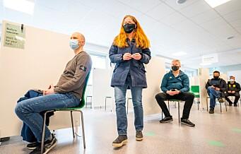 Neste uke setter Oslo ny rekord - får over 56.000 vaksinedoser