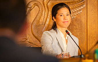 Lan Marie Berg tar selvkritikk. Sier hun kunne informert om milliardsprekk i vannforsyning